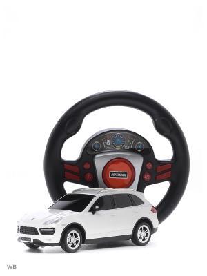 Машина р/у Porsche Cayenne Turbo 1:24 HOFFMANN. Цвет: белый