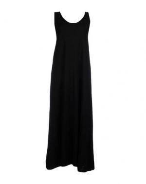 Платье длиной 3/4 BASE. Цвет: черный