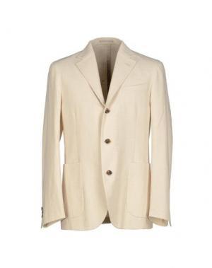 Пиджак ALAIN FRACASSÍ. Цвет: слоновая кость