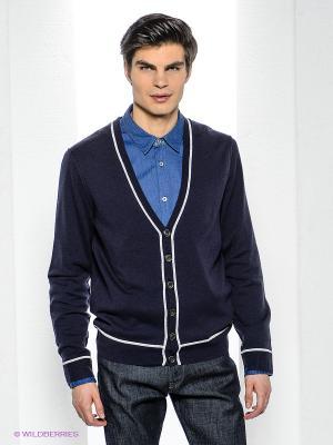 Кардиган Bogner Jeans. Цвет: темно-синий