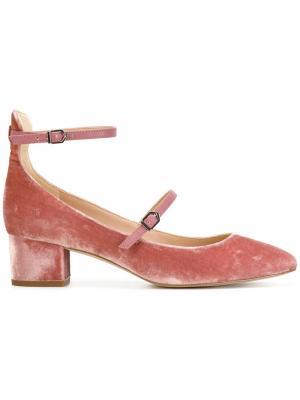 Туфли-лодочки Lulie Sam Edelman. Цвет: розовый и фиолетовый