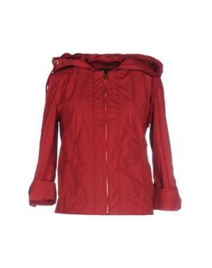 Куртка DEK'HER. Цвет: кирпично-красный