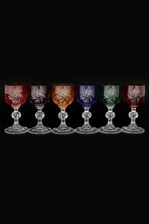 Набор рюмок для водки 50 мл Bohemia. Цвет: прозрачный