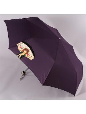Зонт Airton. Цвет: черный, фиолетовый