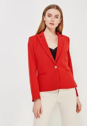 Пиджак Mango. Цвет: красный
