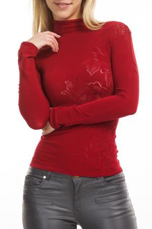 Водолазка LUXURIA. Цвет: красный