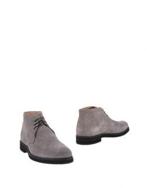 Полусапоги и высокие ботинки BRUNO VERRI. Цвет: серый