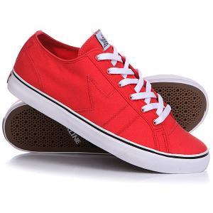 Кеды кроссовки низкие  Forty 5 Red Dekline. Цвет: красный
