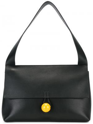Средняя сумка на плечо Rose Corto Moltedo. Цвет: чёрный