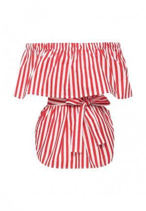 Блуза Tutto Bene. Цвет: красный