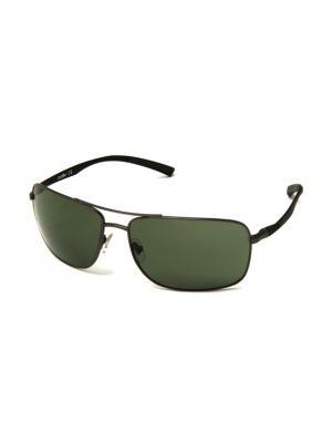 Солнцезащитные очки ZERORH+. Цвет: черный, темно-серый