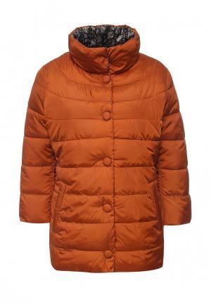 Куртка утепленная adL. Цвет: коричневый