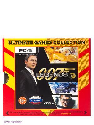Ultimate Games. 007 Legends. Русская версия (Jewel) НД плэй. Цвет: оранжевый, черный, красный
