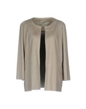 Пиджак LA FEE MARABOUTEE. Цвет: светло-серый