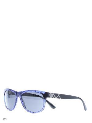 Очки солнцезащитные BURBERRY. Цвет: синий