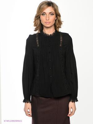 Блузка Ksenia Knyazeva. Цвет: черный