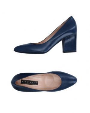 Туфли F.LLI BRUGLIA. Цвет: темно-синий