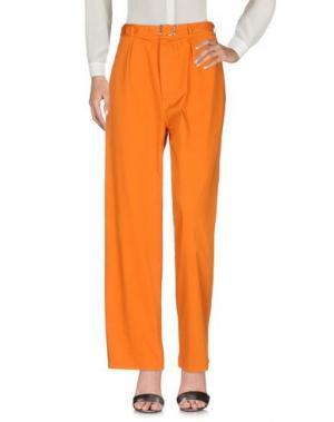 Повседневные брюки DEPARTMENT 5. Цвет: оранжевый