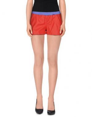 Повседневные шорты TRE CINQUE SETTE. Цвет: красный