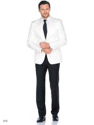 Пиджак ABSOLUTEX. Цвет: белый, серый