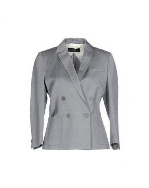 Пиджак FABRIZIO LENZI. Цвет: серый