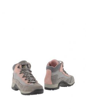 Полусапоги и высокие ботинки DOLOMITE. Цвет: серый