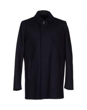Пальто TIGER OF SWEDEN. Цвет: темно-синий
