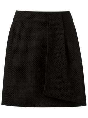 Side pocket skorts Giuliana Romanno. Цвет: чёрный