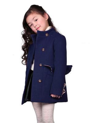 Пальто babyAngel. Цвет: синий