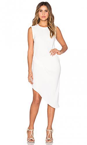 Платье KES. Цвет: кремовый