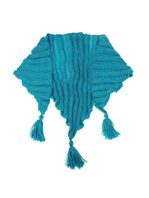 Платок Migura. Цвет: бирюзовый, морская волна