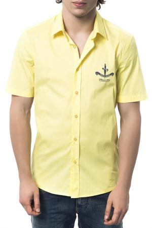Рубашка Cesare paciotti beachwear. Цвет: желтый