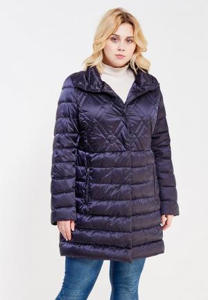 Куртка утепленная Elena Miro. Цвет: черный