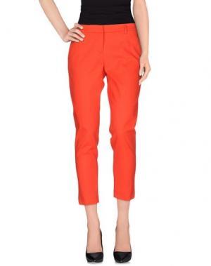 Повседневные брюки TRUE ROYAL. Цвет: красный
