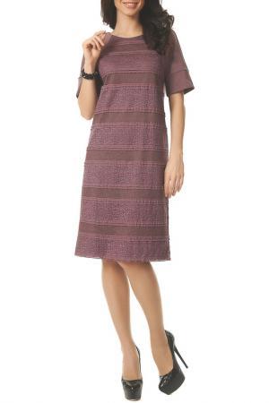 Платье Argent. Цвет: брусничный