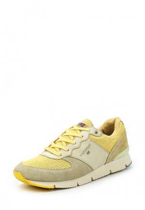 Кроссовки Napapijri. Цвет: желтый