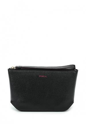 Комплект косметичка и сумка Furla. Цвет: разноцветный