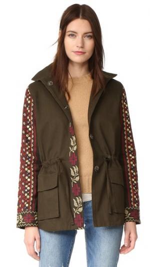 Куртка-карго Love Sam. Цвет: милитари