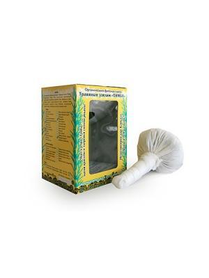 Горное СПА Травяные узелки для лица 40 г Тамба. Цвет: белый