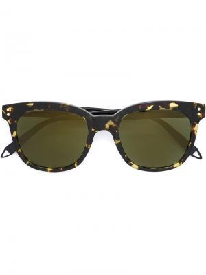 Солнцезащитные очки  VB Victoria Beckham. Цвет: коричневый