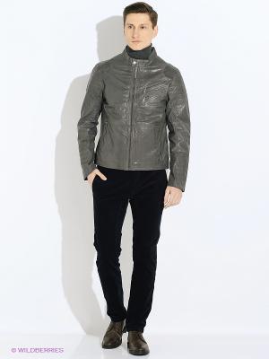 Куртка TOM TAILOR. Цвет: серый, бронзовый, хаки