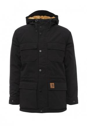 Куртка утепленная Carhartt. Цвет: черный