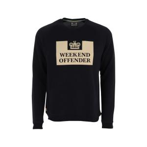 Толстовка  Penetentiary navy Weekend Offender. Цвет: синий