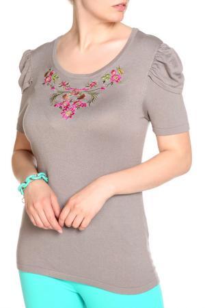Пуловер LOLA PALTINGER. Цвет: серый