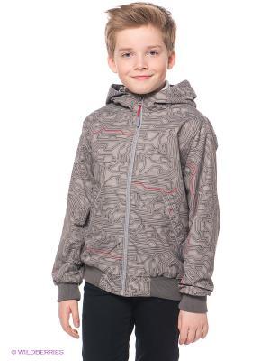 Куртка S`Cool. Цвет: серый