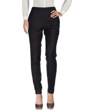 Повседневные брюки VIONNET. Цвет: темно-коричневый