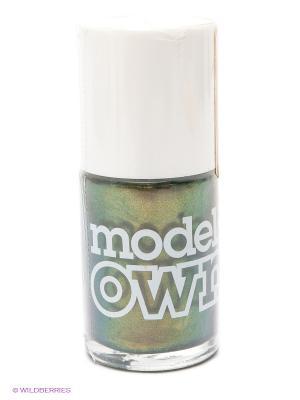 Лак для ногтей, Beetlejuice Golden Green  Models Own. Цвет: зеленый, золотистый, фиолетовый