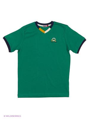 Футболка M-Bimbo. Цвет: зеленый