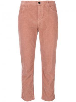 Укороченные брюки Giada Pence. Цвет: розовый и фиолетовый