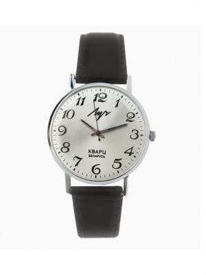 Часы наручные ЛУЧ.. Цвет: серебристый